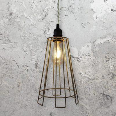 Cage Light Fitting