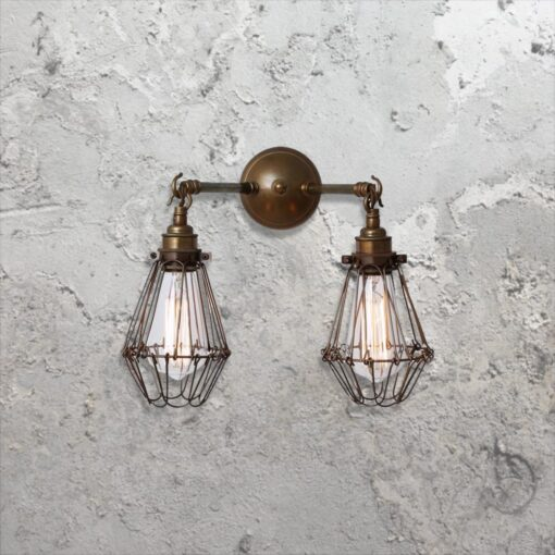 Cage Vintage Wall Light