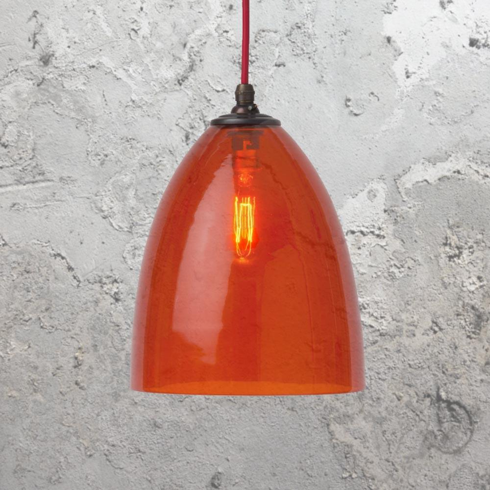 Coloured glass pendant lights cl 26910