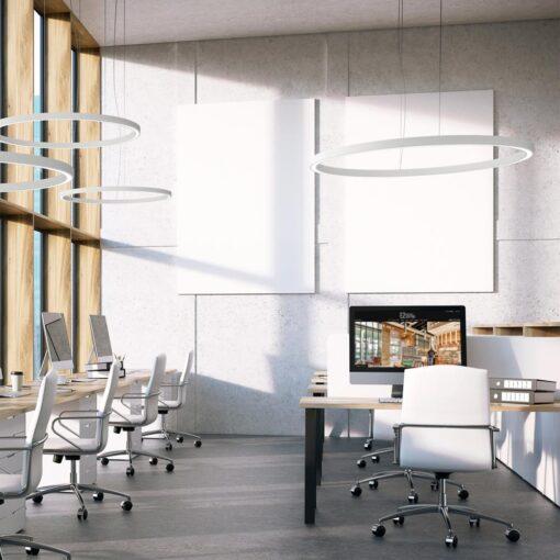 Commercial LED Modular Ring Lighting