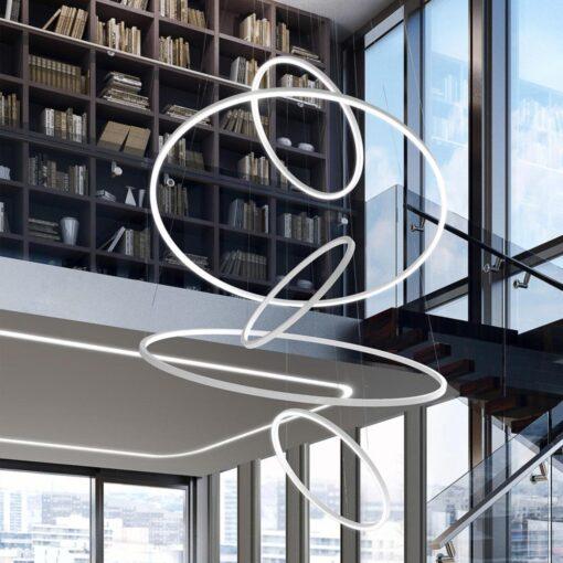Commercial LED Modular Rings Sizes