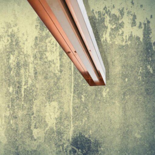 Concrete Copper Commercial Lighting