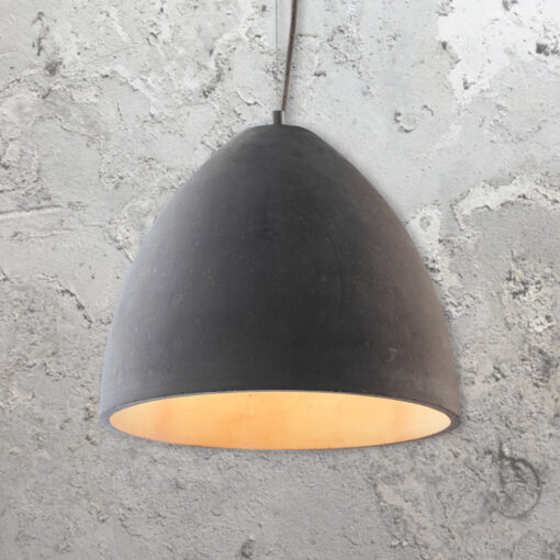 Concrete Dome Pendant Light