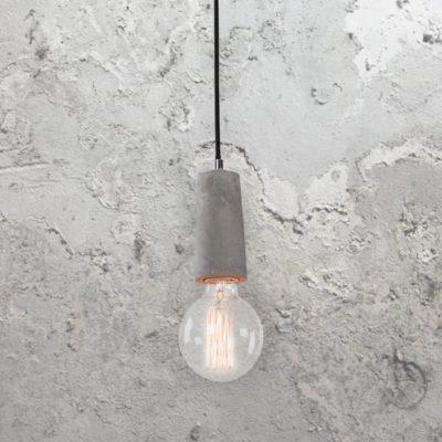 Concrete Lamp Holder Pendant Light