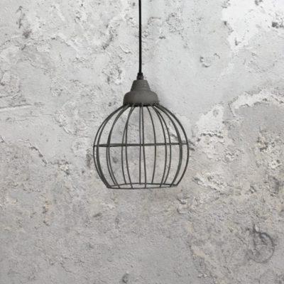 Concrete Wire Pendant Light