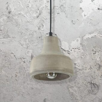 Contemporary Concrete Pendant Light