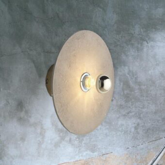 Contemporary Round Ceramic Wall Light