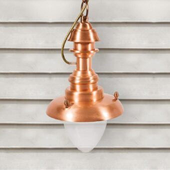 Copper Fisherman Outdoor Hanging Lantern