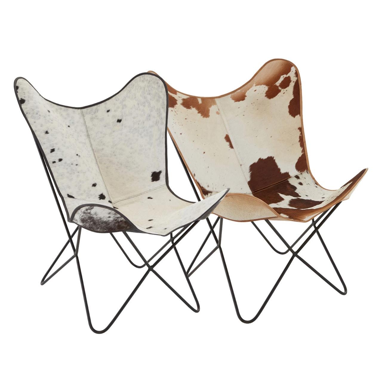 Fantastic Cowhide Butterfly Chair Cl 40164 Squirreltailoven Fun Painted Chair Ideas Images Squirreltailovenorg