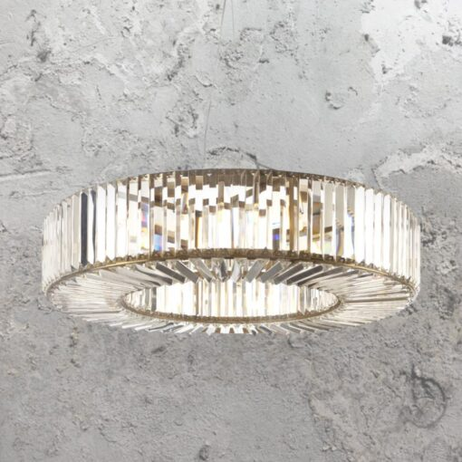 Crystal Ring Chandelier