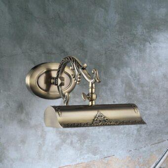 Decorative Bronze Picture Light
