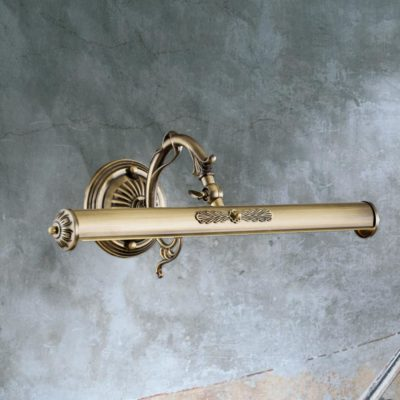 Decorative Neck Bronze Picture Light