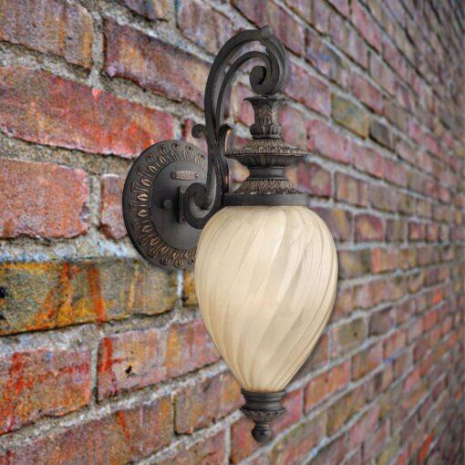 Decorative Outdoor Glass Wall Light