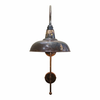 Distressed Antique Wall Light
