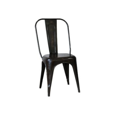 Distressed Iron Chair CL-40136