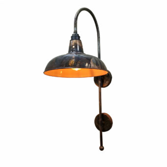 Distressed Lacquered Wall Light