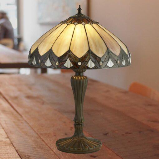 Dome Tiffany Table Lamp