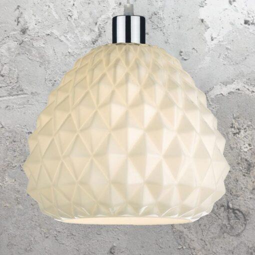 Easy Fit Opal Pineapple Pendant Light
