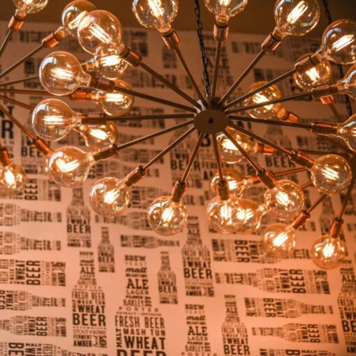 Edison Multi Light Chandelier