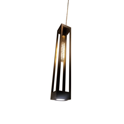 Elongated Pendant Downlight