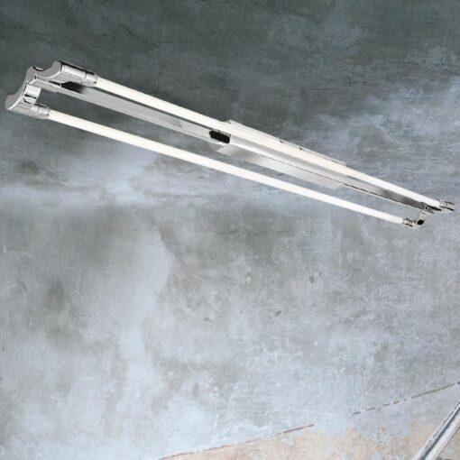 Flush LED Twin Strip Light