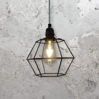 Geometric Cage Pendant Light
