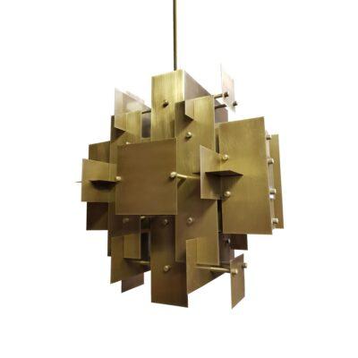 Geometric Panels Feature Light