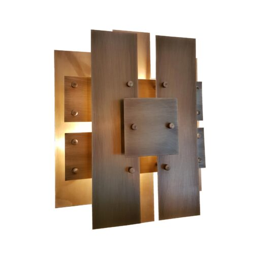Geometric Panels Wall Light