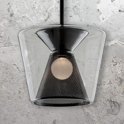 Glass Mesh Pendant Light