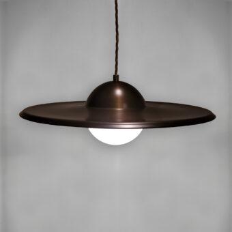 Globe Dish Pendant Light
