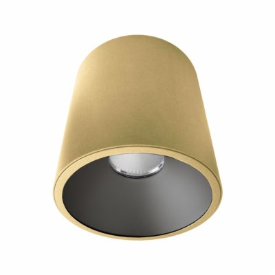 Gold Black Surface Mounted LED Downlight