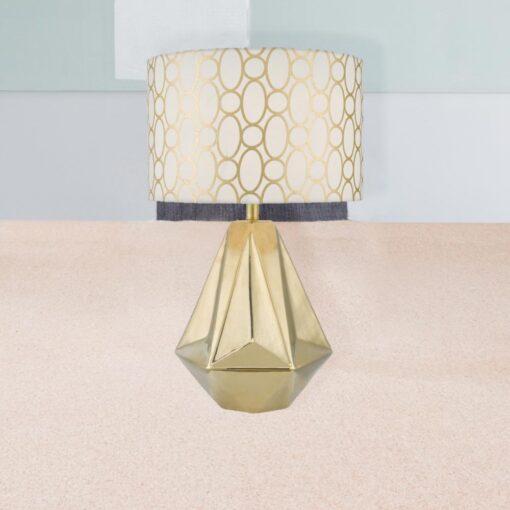 Gold Ceramic Table Lamp