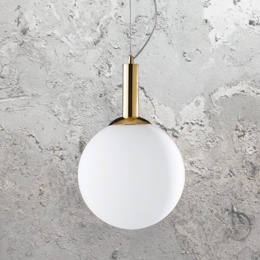 save off fa5f3 95a62 Gold Globe Pendant Light CL-36271