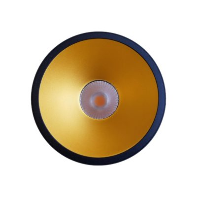 Gold Inner Surface Mounted LED Downlight