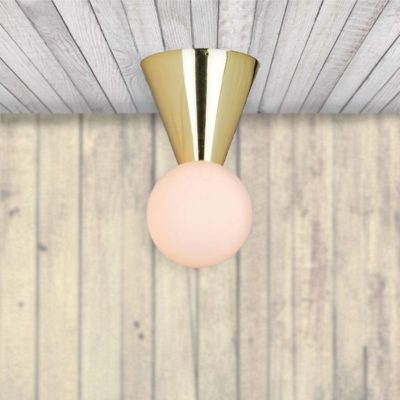 Gold Scandinavian Ceiling Light,Gold Ceiling Light