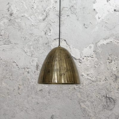 Gold Weathered Pendant Light