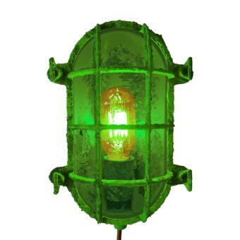 Green Open Oval Bulkhead