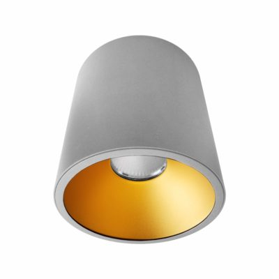 Grey Gold Surface Mounted LED Downlight