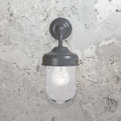 Grey Outdoor Barn Wall Light