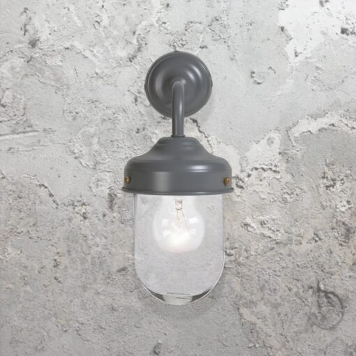 Grey Outdoor Barn Wall Light