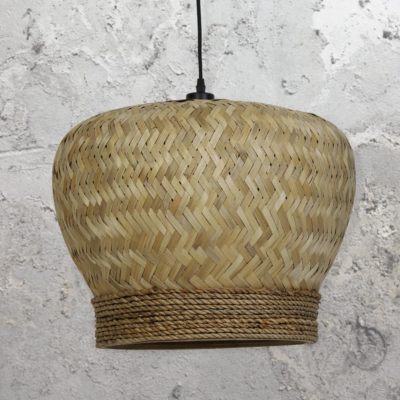 Handmade Natural Rattan Pendant Light