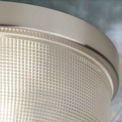 Holophane Glass Flush Light