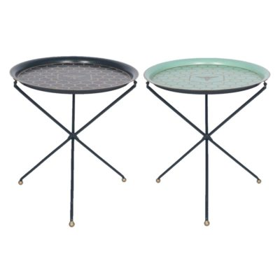 Honeycomb Round Folding Tray Table