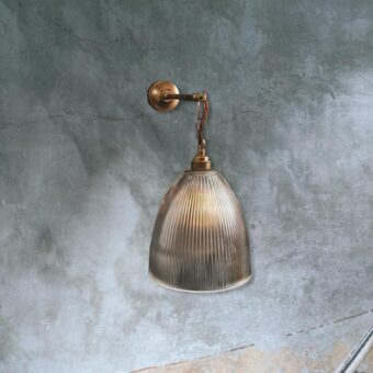 Hooked Prismatic Wall Light
