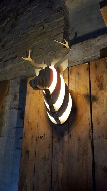 Deer Head LED Light Blog