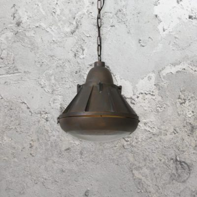 Industrial Antique Copper Pendant Light,Factory Pendant Light,Reclaimed Pendant Light