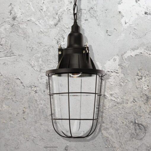 Industrial Black Pendant Light