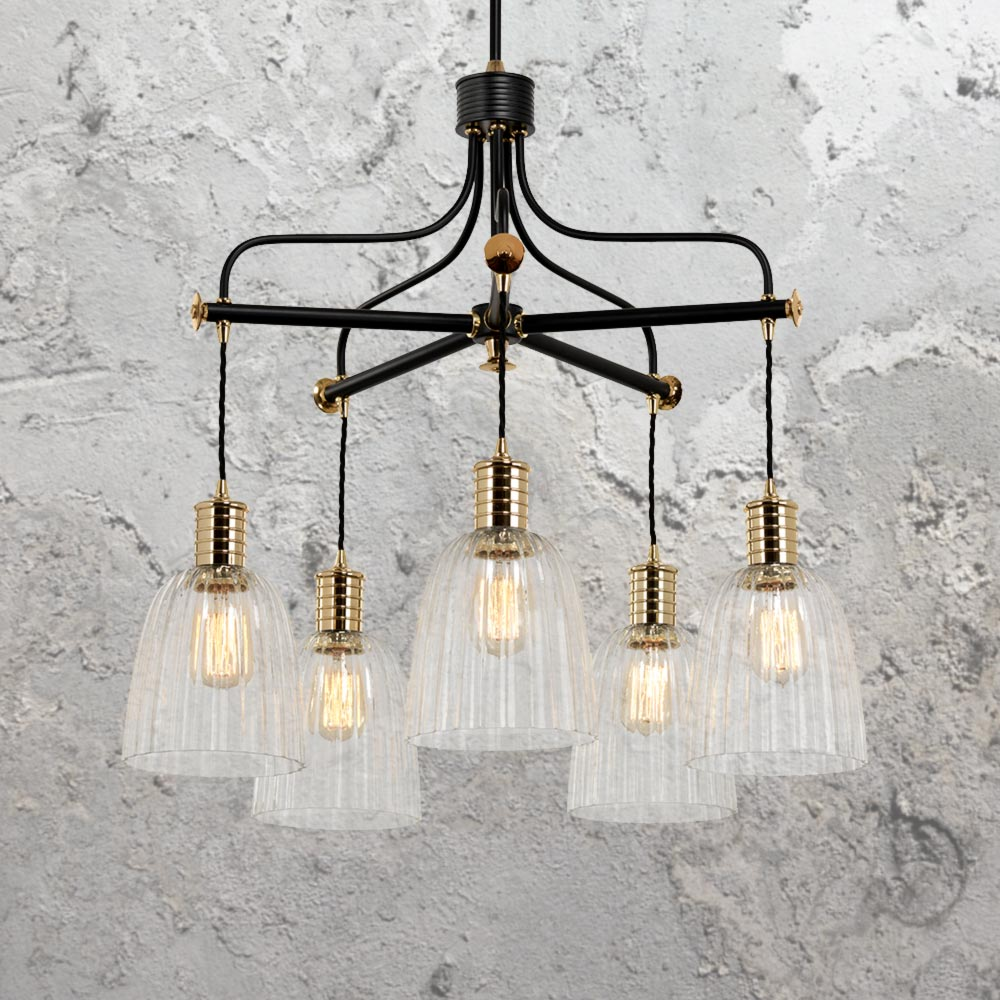 E2 Contract Lighting Products Industrial Chandelier Cl 33212 3 Uk