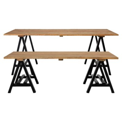 Industrial Coffee and Dining Table