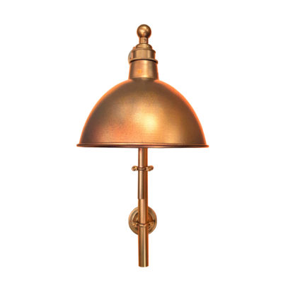 Industrial Copper Steampunk Wall Light